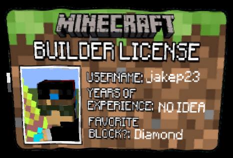 my builders licence | Nova Skin