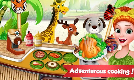 Chef in Jungle - Cooking Restaurant Games screenshots 1