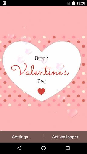 Happy Valentine Live Wallpaper