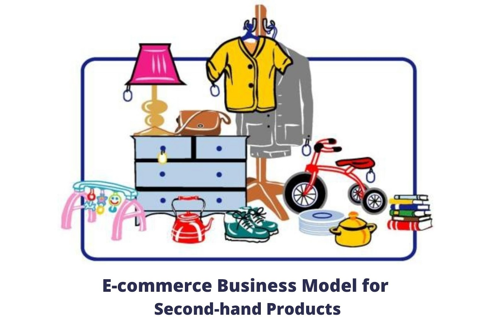 E-commerce business Model for second hand products