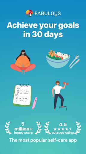 Fabulous: Daily Planner & Self-Care Habit Tracker screenshot 1
