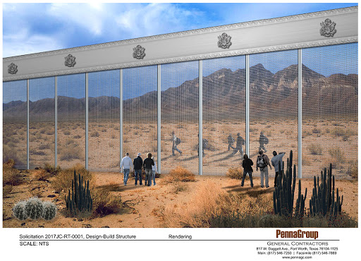 Texas firm submits its 'Other Wall' for the US/Mexico border