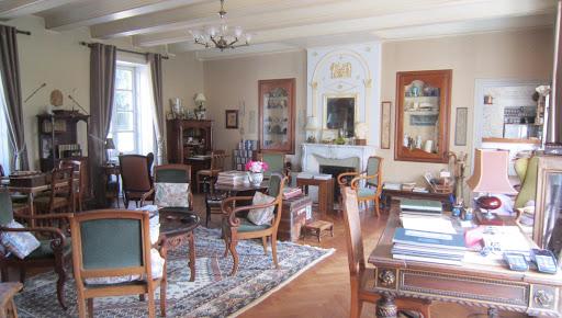 Salon de la maison d'hôtes de charme