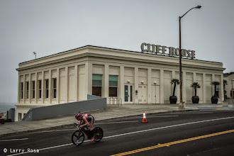 Photo: at the 2014 Escape from Alcatraz Triathlon on June 1, 2014 in San Francisco, CA