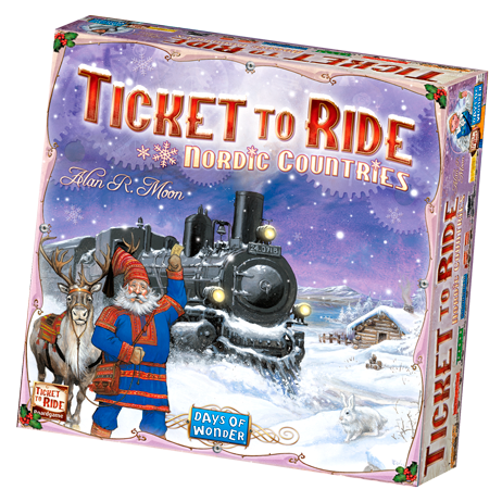 Ticket to Ride: Nordic Countries (ENG)