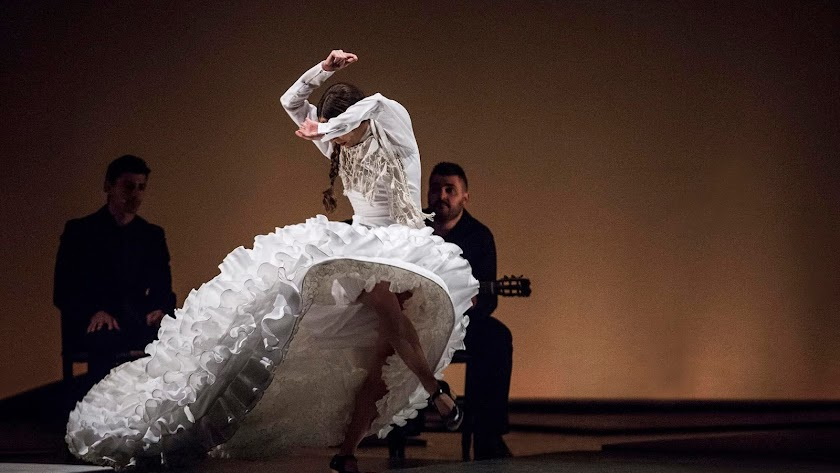 La bailaora Mariana Collado en una imagen de archivo.