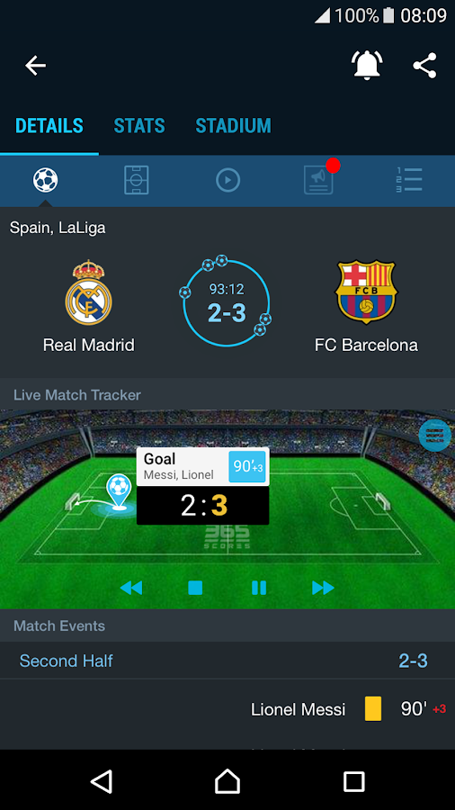 365Scores - Sports Scores Live- screenshot