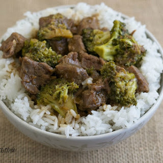 Crock Pot Beef Broccoli