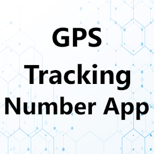 GPS Tracking Number App - náhled