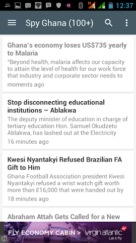 android Ghana News Lite App Screenshot 4