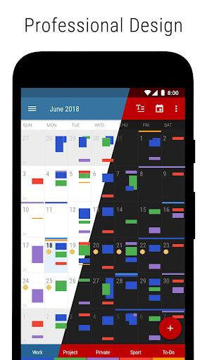 Business Calendar 2・Agenda, Planner & Widgets screenshot 3