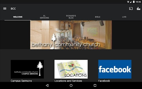 Bethany Community Church- screenshot thumbnail