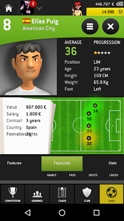 Striker Manager 2016 (Soccer) 1.3.3 screenshot 193196