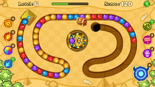 Jungle Marble Blast screenshot 9