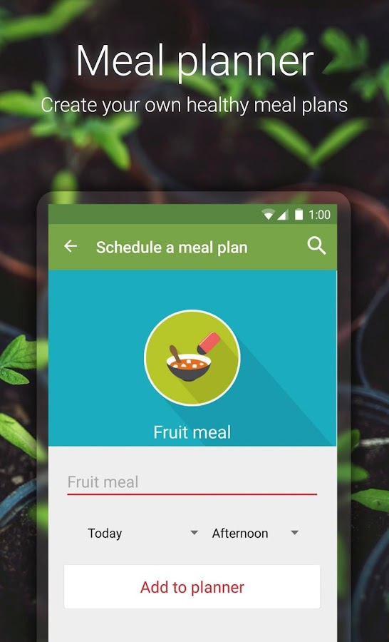 Healthy recipes - Fitberry- screenshot