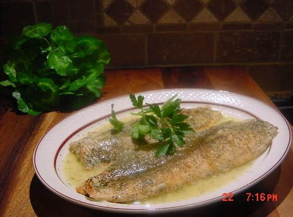 Bonnie's Baked Salmon With Lemon And Dill