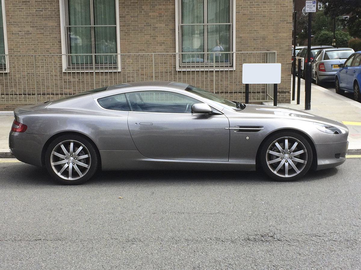 Aston Martin Db9 Hire London