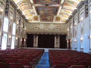 Photo: Mozart Theater in Esterhazy Palace.