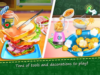 School Lunch Food Maker 2- screenshot thumbnail