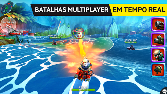 Battle Bay Android screenshot