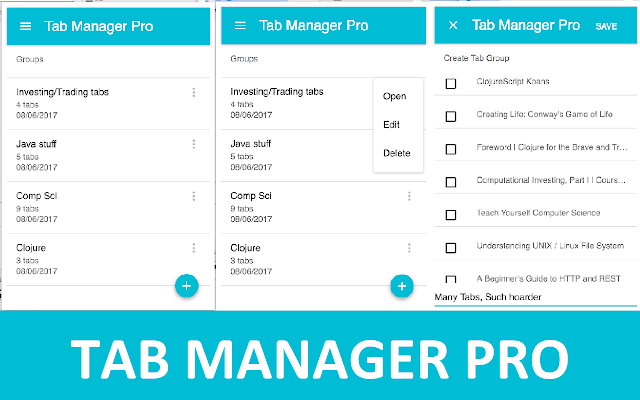 Tab Manager Pro