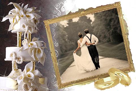 Love Wedding Photo Frames