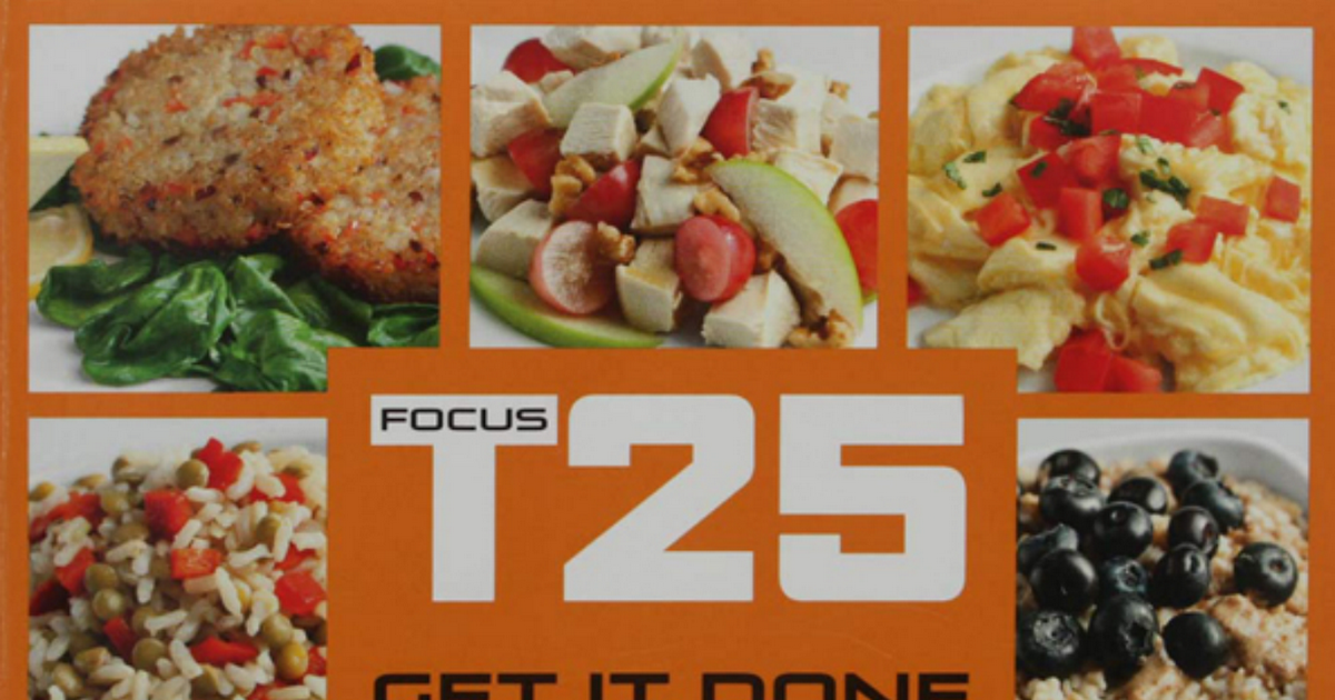 Focus t25 nutrition plan enough for extreme results? | rippedclub.