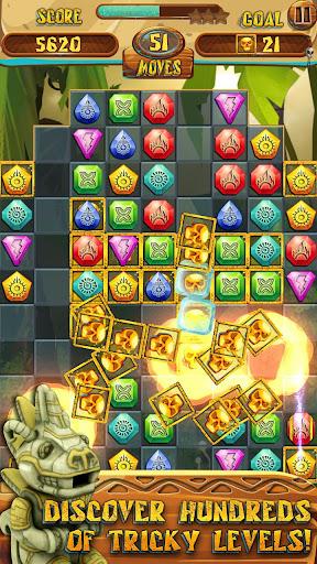 Match 3 Jewels: Aztec Gold  screenshots 4
