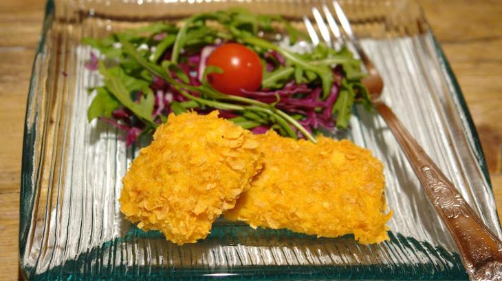 Breaded Hake in Corn Flakes Recipe