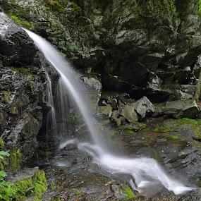 Shenandoah 3 by James Reil - Landscapes Waterscapes ( virgnia, waterfall, shenandoah national park )
