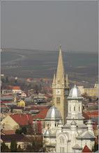 Photo: Turda - Cimitirul Central - panorama spre centrul orasului  - 2019.03.31
