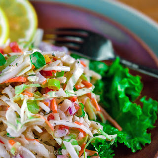 Ranch-Flavored Cole Slaw (Gluten-Free)