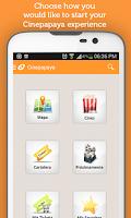 Screenshot of Cartelera Cinepapaya