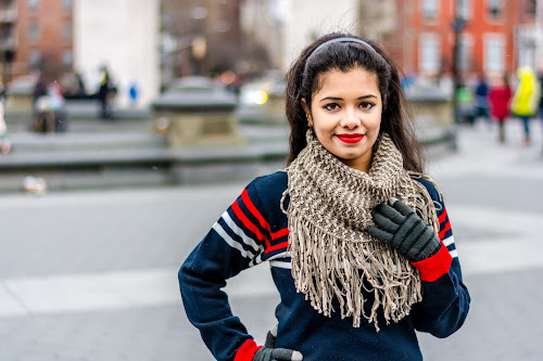 Making the best of this cold days by Arnab Dutta - People Portraits of Women ( fashion, beauty, people, pretty, women, portrait )