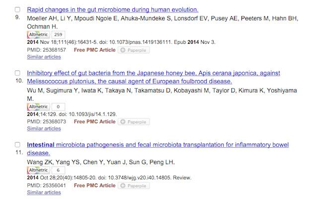 PubMed Altmetric