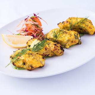 Ajwaini Macchi (Monkfish Kebabs) Recipe