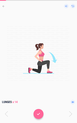 Women Workout at Home - Female Fitness 1.1.8 screenshots 8