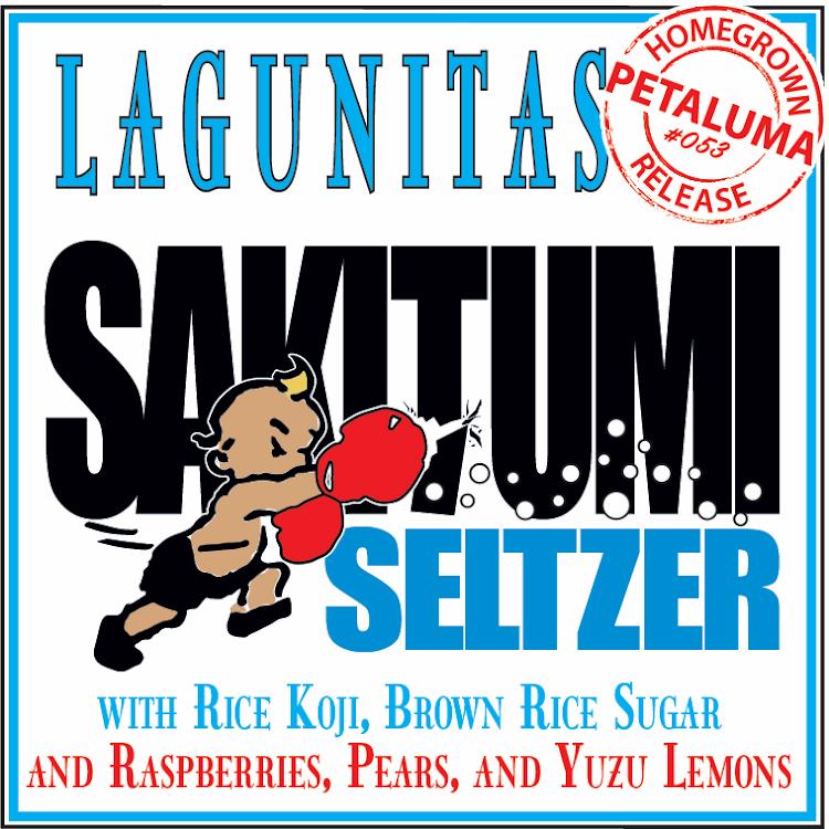 Logo of Lagunitas Sakitumi Seltzer
