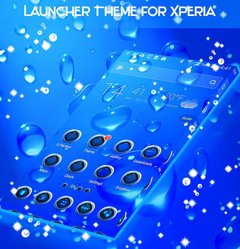 Launcher Theme for Xperia Apk by Launcher 2018 - wikiapk com