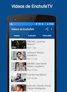 Videos de EnchufeTV screenshot 0