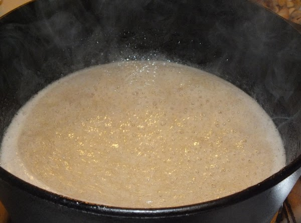Stir in the gelatin mixture, vanilla and almond extract (if using), and cook, stirring,...