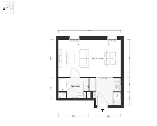 Vente studio 30,28 m2