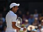 Novak Djokovic a eu chaud