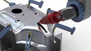 radan radm-ax Многоосевая лазерная технология для трехмерных деталей из листового металла