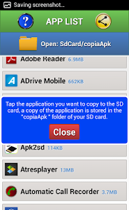 Apk To SD card screenshot 1