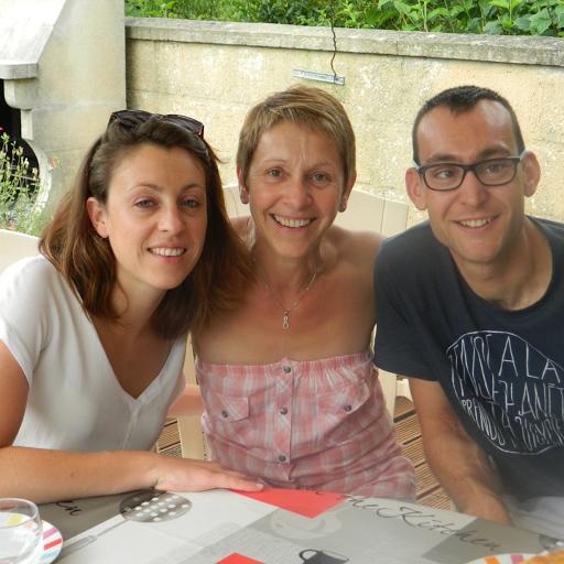 Lydie et sa fille Mélanie participent au Cross Ouest France pour soutenir la vie associative de L'Arche La Ruisselée.