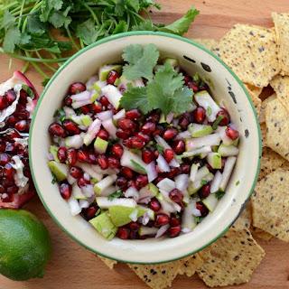Pear and Pomegranate Salsa.