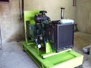 Photo: Generator Volvo 94 kva, Rezervele de Stat, Sibiu