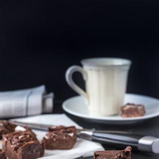 Peppermint Chocolate Fudge