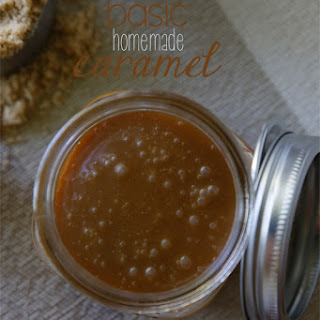 Basic Homemade Caramel